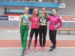 """Четири медала за лекоатлетките на """"Орловец 93"""", Ния Вичева спечели два"""