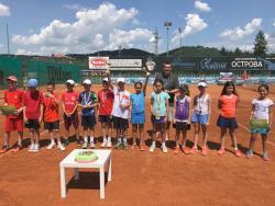 Валерия Гърневска спечели регионалното първенство по тенис за деца до 10 години