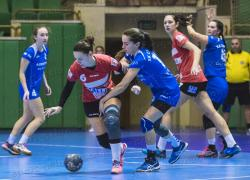 """Втора категорична победа за женския тим на """"Бъки"""" – 34:22 в Сливница"""