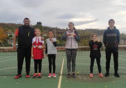 Второ място за Невена Харитонова в Регионален тенис турнир